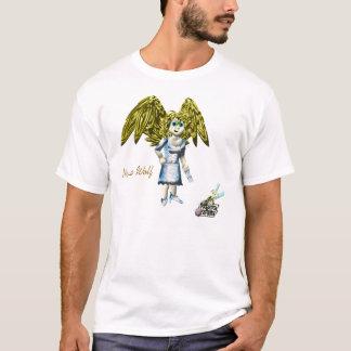 Camiseta T-shirt do lobo da nova