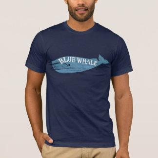 Camiseta T-shirt do logotipo da baleia azul de sombras