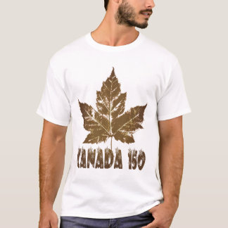 Camiseta T-shirt do logotipo   de Canadá 150