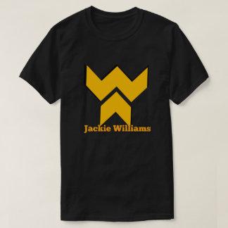 Camiseta T-shirt do logotipo de Jackie Williams