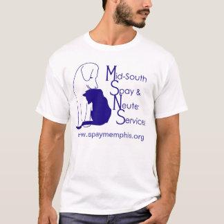 Camiseta T-shirt do logotipo de MSNS
