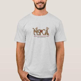 Camiseta T-shirt do logotipo de NSPCA