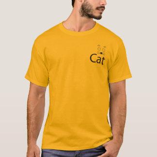 Camiseta T-shirt do logotipo do CAT