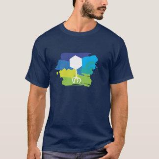 Camiseta T-shirt do logotipo do fago (Multi-Cor;