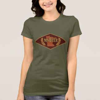 Camiseta T-shirt do logotipo do MNBeer das mulheres