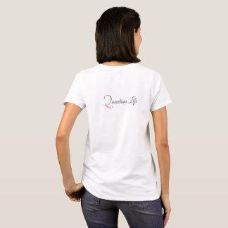 Camiseta T-shirt do logotipo do QL das mulheres