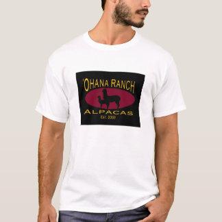 Camiseta 'T-shirt do logotipo do rancho de Ohana