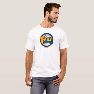 Camiseta T-shirt do logotipo dos Fathoms da aleta oficial