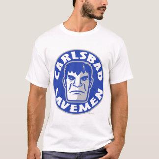 Camiseta T-shirt do logotipo dos homens das cavernas de