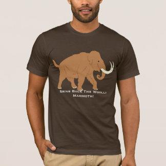 Camiseta T-shirt do Mammoth Woolly dos desenhos animados