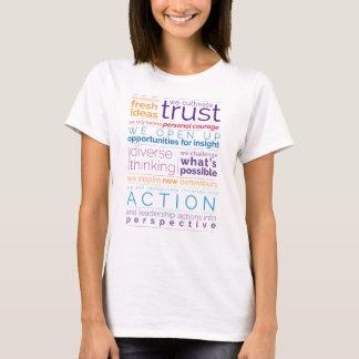 Camiseta T-shirt do manifesto da mesa redonda