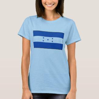 Camiseta T-shirt do mapa da bandeira x de Honduras