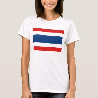 Camiseta T-shirt do mapa da bandeira x de Tailândia
