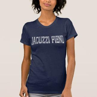 Camiseta T-shirt do marinho '99 do diabo do Jacuzzi