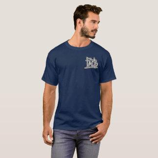 Camiseta T-shirt do marinho dos fatos