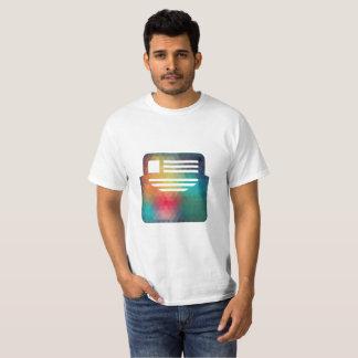 Camiseta T-shirt do marketing do email