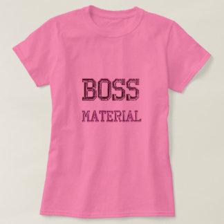 Camiseta T-shirt do material do chefe