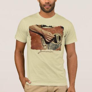 Camiseta T-shirt do melómano do GUITARRISTA