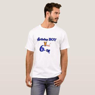 Camiseta t-shirt do menino 60 de B-dia