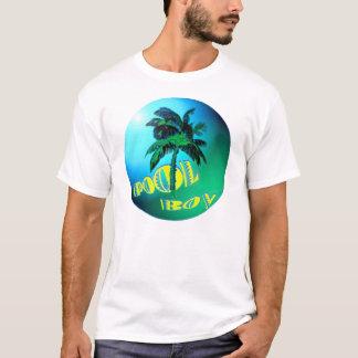 Camiseta T-shirt do menino da piscina
