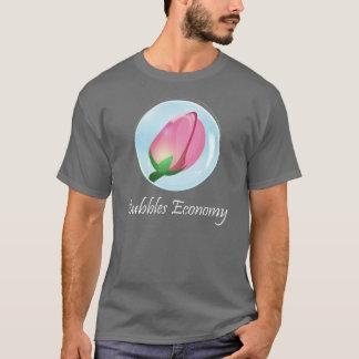 Camiseta T-shirt do mercado de valores de acção da economia