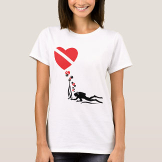Camiseta T-shirt do MERGULHADOR