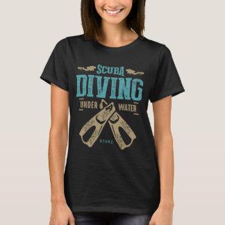 Camiseta T-shirt do mergulho autónomo