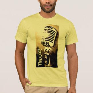 Camiseta T-shirt do microfone do rolo da rocha n