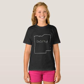 Camiseta T-shirt do miúdo de DuCo - meninas