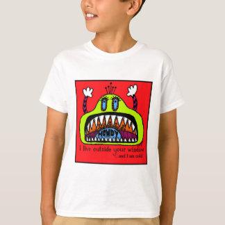 Camiseta T-shirt do monstro da janela