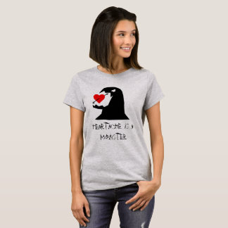 Camiseta T-shirt do monstro da mágoa das mulheres