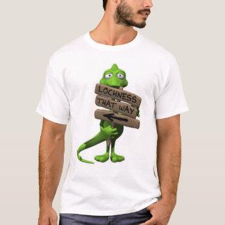 Camiseta T-shirt do monstro de Loch Ness