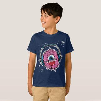 Camiseta T-shirt do monstro do miúdo