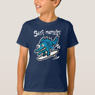 Camiseta T-shirt do monstro do surf