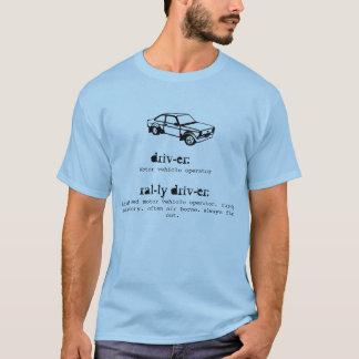 Camiseta T-shirt do motorista da reunião