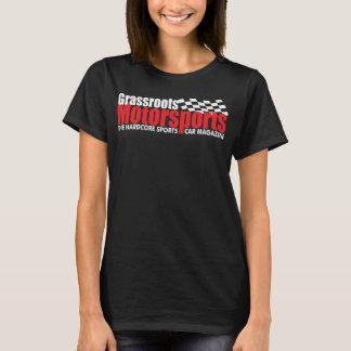 Camiseta T-shirt do Motorsports das bases das mulheres