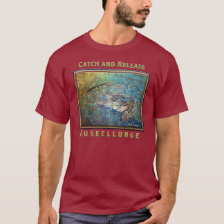 Camiseta T-shirt do Muskellunge