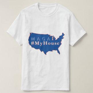 Camiseta T-shirt do #MyHouse de MAGA