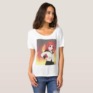 Camiseta T-shirt do namorado das mulheres de Moe do Anime