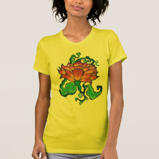 Camiseta T-shirt do nascer do sol do Tequila de Lotus