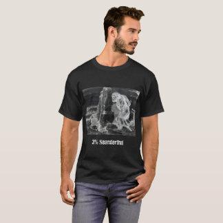 Camiseta T-shirt do Neanderthal de 3%