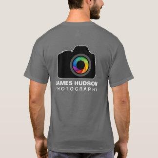 Camiseta T-shirt do negócio da fotografia