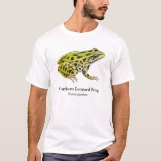 Camiseta T-shirt do norte do sapo de leopardo