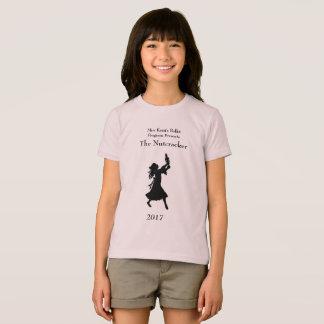 Camiseta T-shirt do Nutcracker das meninas do programa do