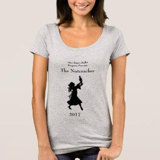 Camiseta T-shirt do Nutcracker das mulheres do programa do