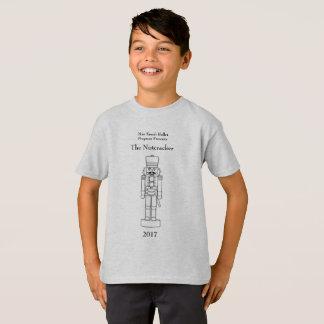 T-shirt do Nutcracker dos meninos do programa do