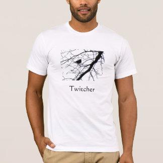 Camiseta T-shirt do observador de pássaro de Twitcher