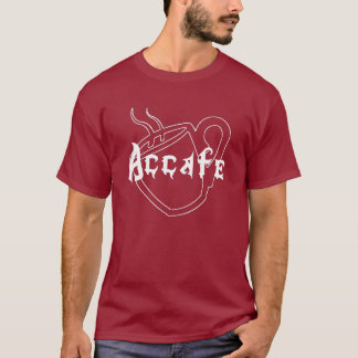 Camiseta T-shirt do oficial de Accafe!