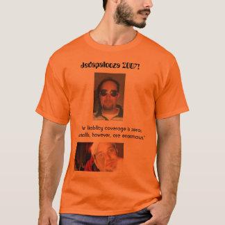 Camiseta T-shirt do oficial de Jedapalooza