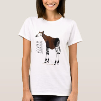 Camiseta T-shirt do Okapi